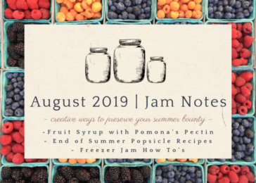 Jam Notes-August 2019