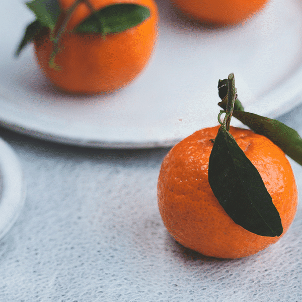 oranges on a table